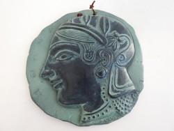 Múzeumi másolat Athénból - Pallasz Athéné relief