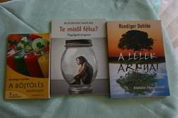 Dahlke  (Ruediger) könyvek  3 különböző téma