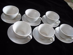 Zsolnay  mokkás  csészék az  1950  es évekből  II.  Használva még nem volt  ,  ,