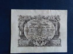5 Gulden 1851 Reichs Schatzschein Ingyen postázás