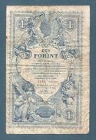1 Gulden 1888 eredeti állapotban