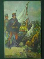 Hadsegélyező levelezőlap,1914.