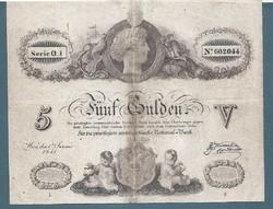 5 Gulden 1841  Ingyen postázás