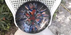 Retro kerámia tányér nagyméretű