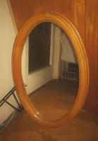 Ovál tükör 76*50 cm