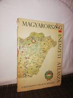 1967 Magyarország Nemzeti Atlasza!Nagy Államigazgatási Térképpel!