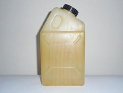 Retro Szobi JAFFA SZÖRP - műanyag flakon kanna domború felirat - 1960-1970-es évekből