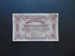 100000 adópengő 1946 sorszám nélkül  01