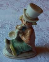 Német porcelán figura