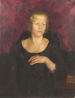 Deli Antal: Női portré