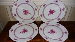 Herendi Apponyi mintás előételes tányér