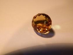Citrin - 8,75 ct, természetes, aranysárga, zárványmentes