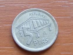 SPANYOL 5 PESETAS 1995 ASTURIAS