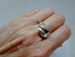Különleges szép ezüst gyűrű