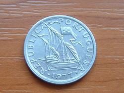 PORTUGÁLIA 2,5 ESCUDO 1977