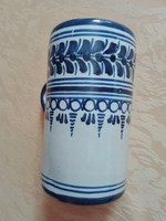 Kerámia korsó, csésze, 13 cm magas