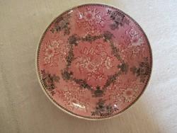 W. Ridgway&Co tálka (1814-30), Etruscan Festoon jelzés. Muzeális angol fajansz