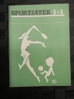 Sportjátékok 1x1