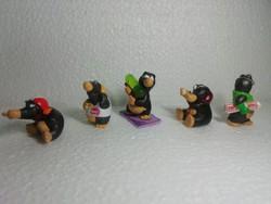 Régi gyűjteményből való kinder figurák  5 db