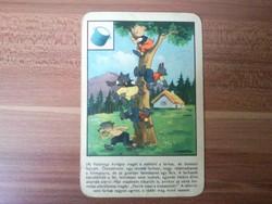 Mesés játékkártya
