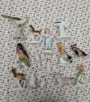 14 db figura!!! román porcelán csomag - személyes átvétel vagy csomagolási költség!!!