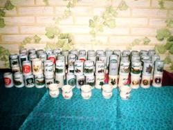 100 darabos kerámia stampedlis pohárgyűjtemény