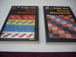Ötven kötésminta könyv  2 db