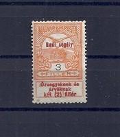 1914.Hadisegély 3 fillér