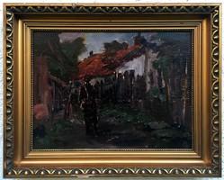 """Balla Lászó ( 1906- ) """" Hazafelé..."""""""