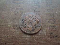 Ausztria 1/2 kreuzer 1800A