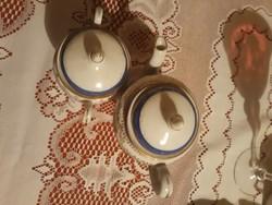Antik német porcelán