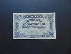 500000 adópengő 1946 sorszám nélkül  01