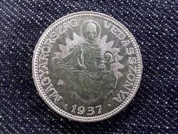 Extra szép .640 ezüst 2 Pengő 1937 BP / id 10652/