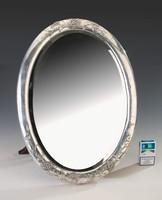 Ezüst Bachruch szecessziós asztali tükör