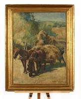 Fried Pál festmény