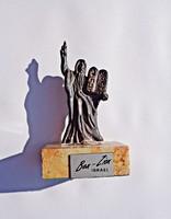 Ben-Zion Israel, 925-ös Mózes a tízparancsolattal szobor