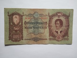 Szép 50 Pengő 1932 !!