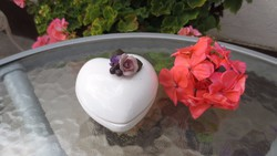 Szív alakú ékszertartó doboz