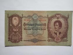 Szép 50 Pengő 1932 !!  ( 3 )
