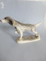 Katzhütte porcelán vadász kutya