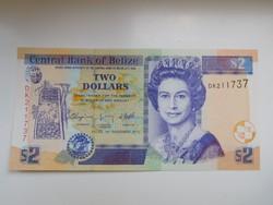 Belize 2 dollár 2011 UNC