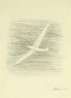 0Y088 Helmut Molinus : Siklórepülő 1968