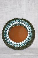 Kerámia keretes fali tükör  ( DBZ 0081 )