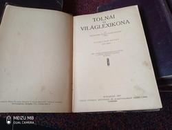 TOLNAI ÚJ VILÁGLEXIKONA VIII. KÖTET JÓS - KOR 1927