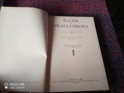 TOLNAI ÚJ VILÁGLEXIKONA XVI. KÖTET  SŐR - RÁK 1929 ingyen posta óbuda