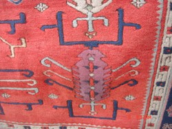 Kazakh-mintás szőnyeg 186x270cm