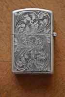 Ezüst ZIPPO öngyújtó olasz 800-as ezüst Peruzzi Silver 800 Florence