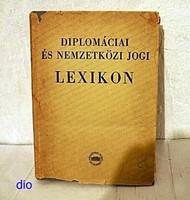 Diplomáciai és Nemzetközi Jogi Lexikon