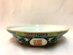 Kínai porcelán tányér, 1930 körül