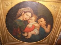 Raffaelo,másolat kb. 150 éves.